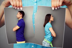 разрыв отношений, развод