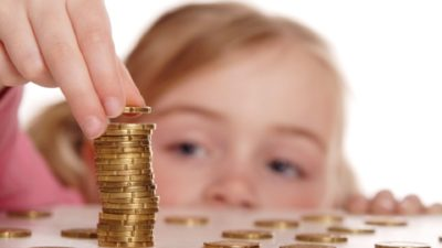 Die Gelderziehung der Kinder