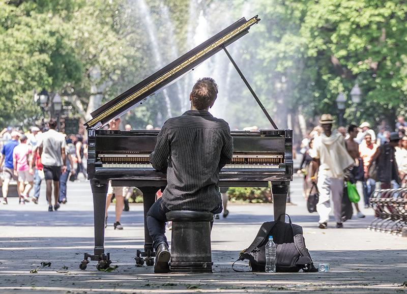 пианист, творчество, публичные выступления