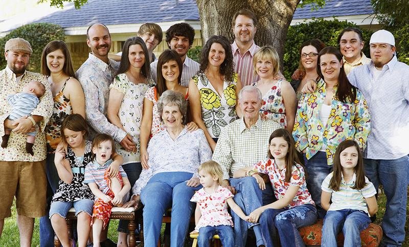 род, большая семья