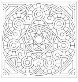 Coloring mandalas: new dose of anti-stress!